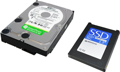HDD and SDD
