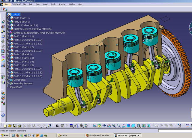آموزش کتیا CATIA training